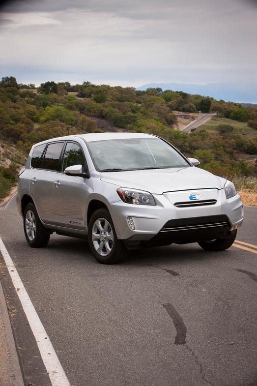 Toyota, RAV4, EV, electric, vehicle